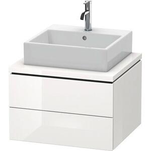 Vanity Unit For Console, White High Gloss (decor)
