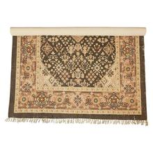 Product Image - 5' x 8' Woven Cotton Printed Rug, Multi Color