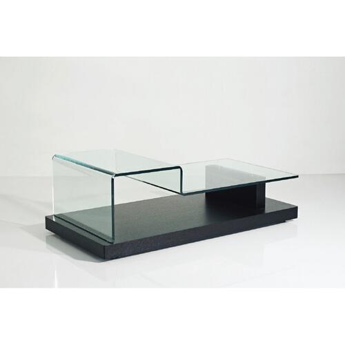 VIG Furniture - Modrest Slope - Modern Glass Coffee Table