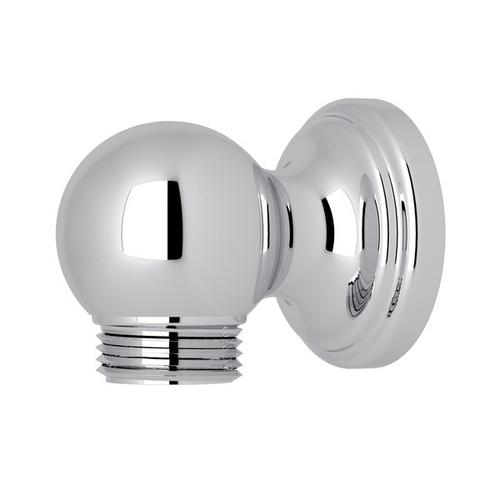 Polished Chrome Perrin & Rowe Wall Outlet For Riser