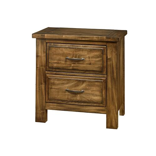Artisan & Post Solid Wood - Night Stand - 2 Drawers