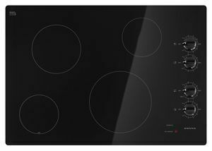 Amana30-Inch Electric Cooktop With Multiple Settings - Black
