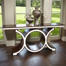 See Details - Link Console-Walnut/Ivory