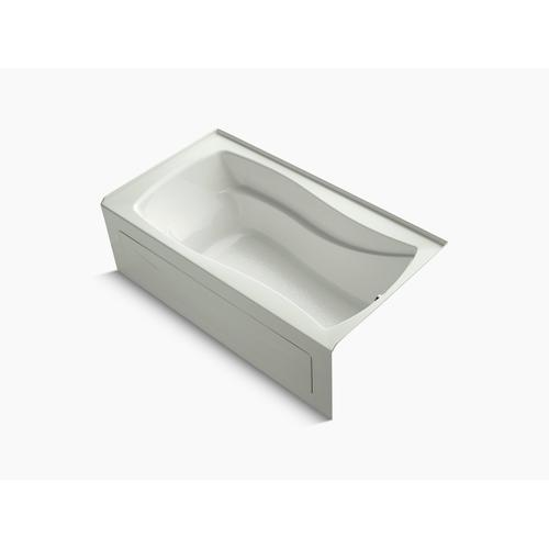 """Dune 66"""" X 36"""" Alcove Bath With Integral Apron and Right-hand Drain"""