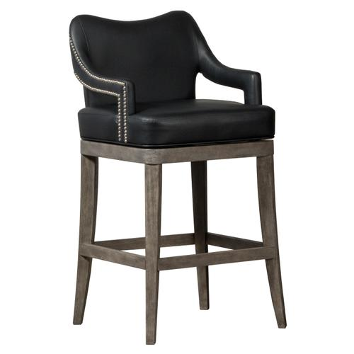 Theron Hill Wood Counter Height Swivel Stool