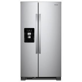 36-inch Wide Side-by-Side Refrigerator - 25 cu. ft. Fingerprint Resistant Stainless Steel