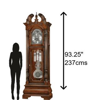See Details - Howard Miller Stratford Grandfather Clock 611132