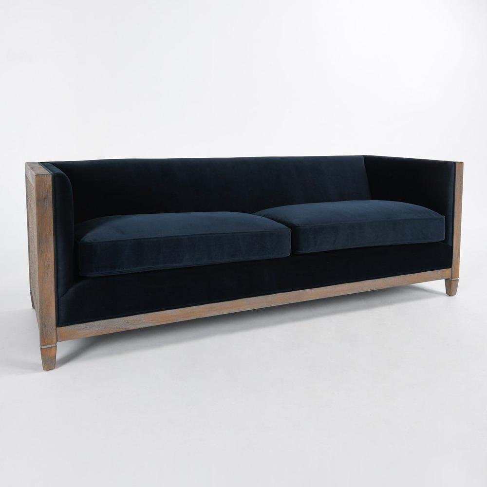 See Details - Lilith Sofa Midnight Blue