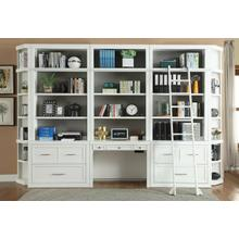 See Details - CATALINA 9 Piece Workspace Library Wall