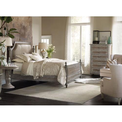Bedroom Wood Poster Bed Rails 5/0-6/6