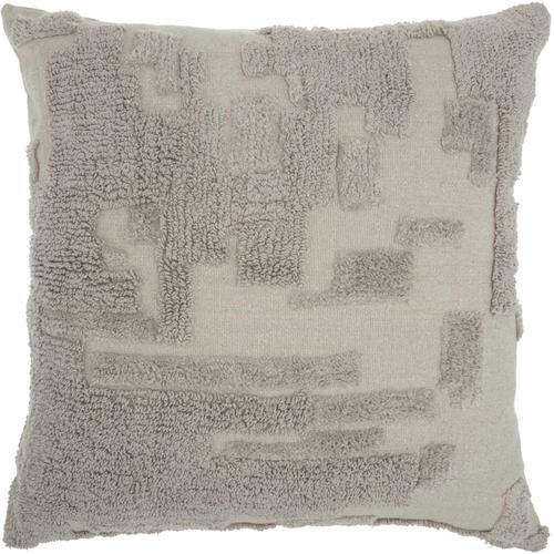"""Life Styles Gt745 Khaki 24"""" X 24"""" Throw Pillow"""