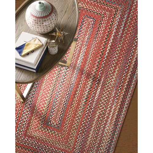 Capel Rugs - Americana Country Red - Vertical Stripe Rectangle - Custom