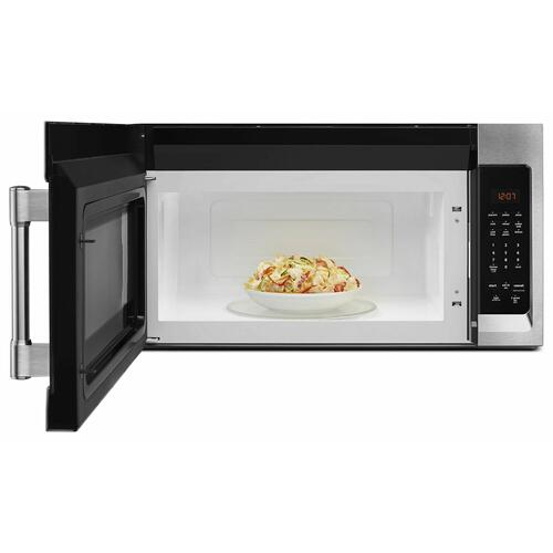 Compact Over-The-Range Microwave - 1.7 Cu. Ft. Fingerprint Resistant Stainless Steel