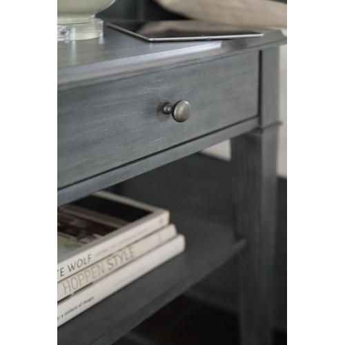 Bedroom Hamilton One-Drawer Bedside Table