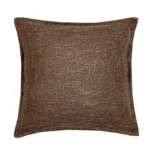 Burlap Cushion - Brown / 100% Polyester