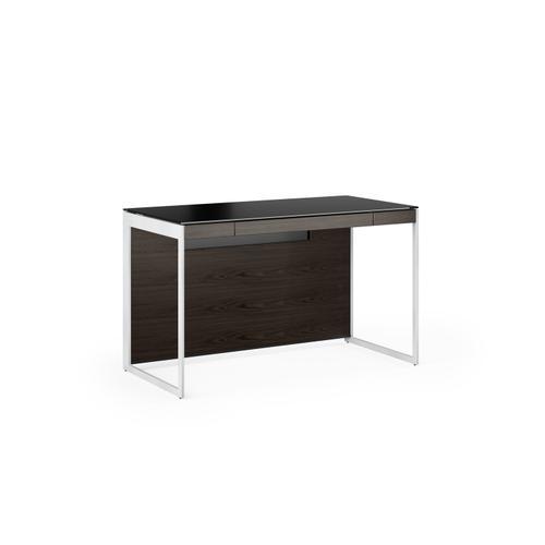 BDI Furniture - Sequel 20 6103 Compact Desk in Charcoal Satin Nickel