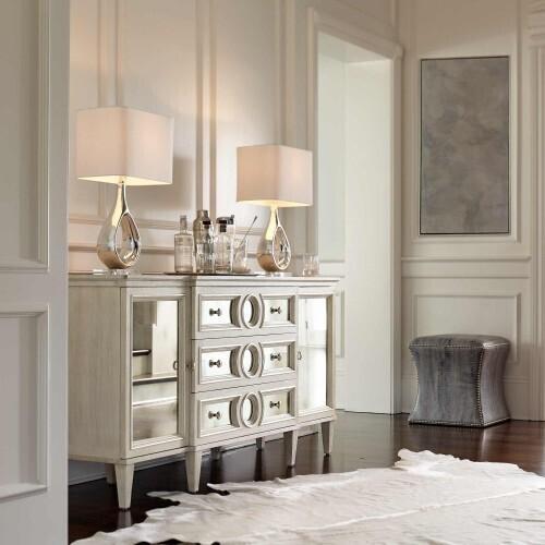 Bernhardt - Allure Buffet in Manor White (399)