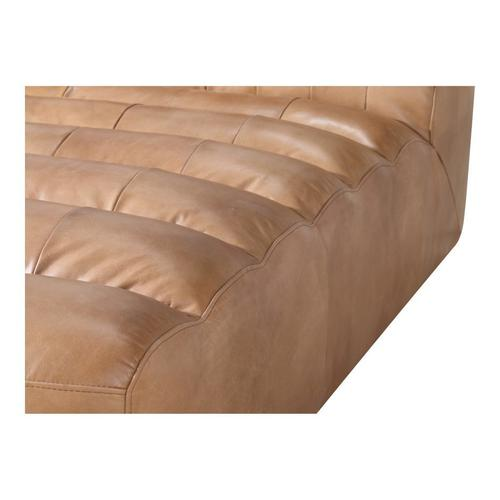 Moe's Home Collection - Ramsay Leather Chaise Tan