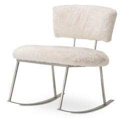 Pebble Beach Rocker Chair Powder