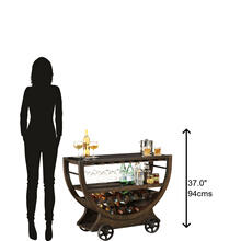 695-184 Happy Hour Wine & Bar Console