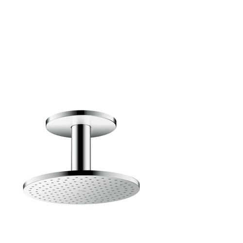Chrome Overhead shower 250 1jet with ceiling connection