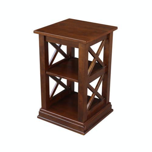 John Thomas Furniture - Hampton Accent Table in Espresso