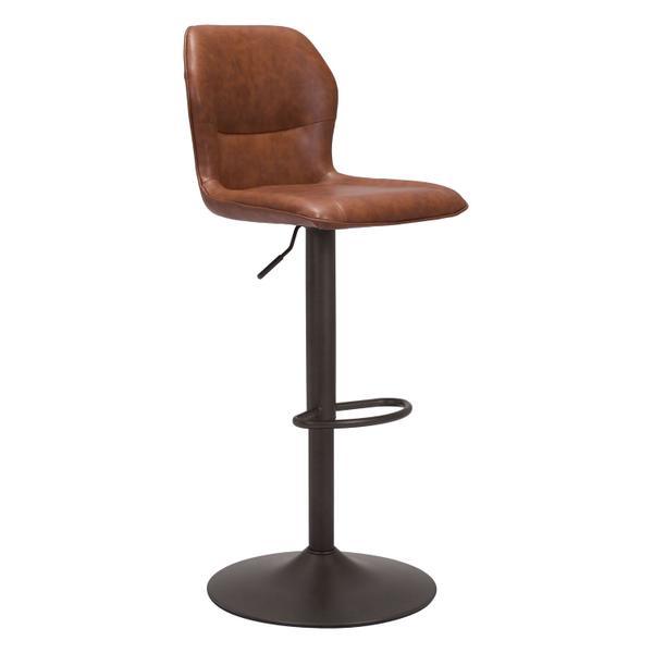 See Details - Vital Bar Chair Vintage Brown