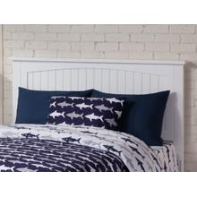 Nantucket Headboard Full White