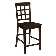 See Details - Counter Chair (2/Ctn) - Espresso Finish