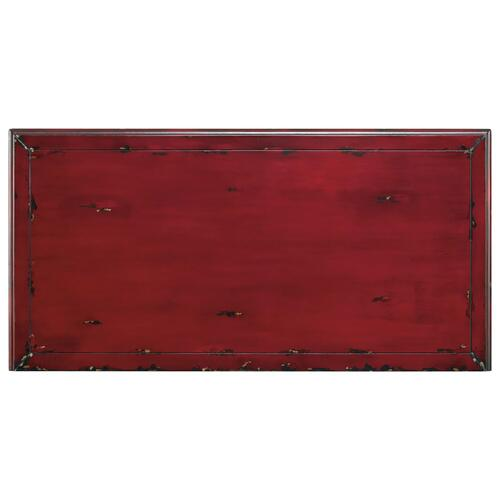 Living Room Red Bombe Chest