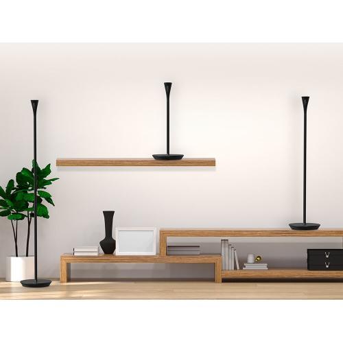 Panasonic - HomeHawk FLOOR Smart Home Monitoring System with Ambient Light (Black Satin)