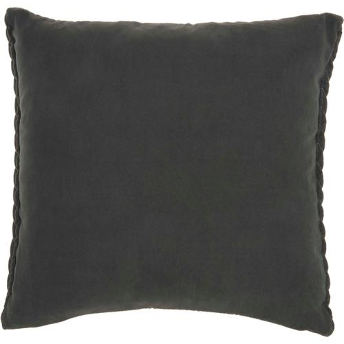 """Life Styles Et299 Charcoal 18"""" X 18"""" Throw Pillow"""