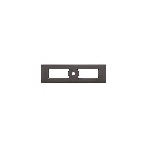 Hollin Knob Backplate 3 3/4 Inch - Ash Gray