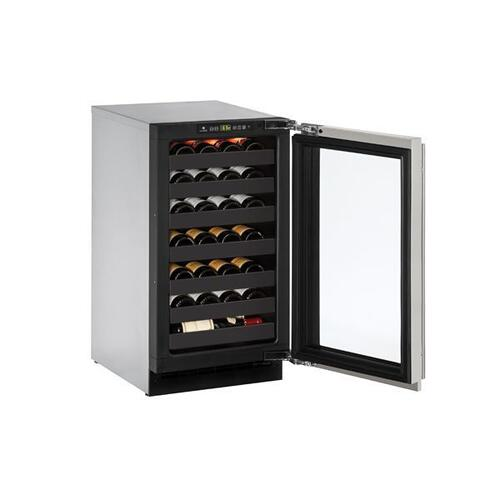 "2218wc 18"" Wine Refrigerator With Stainless Frame Finish (115 V/60 Hz Volts /60 Hz Hz)"