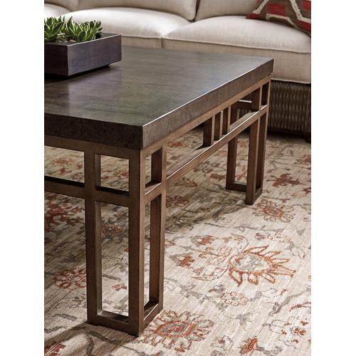Tommy Bahama - Montera Travertine Cocktail Table