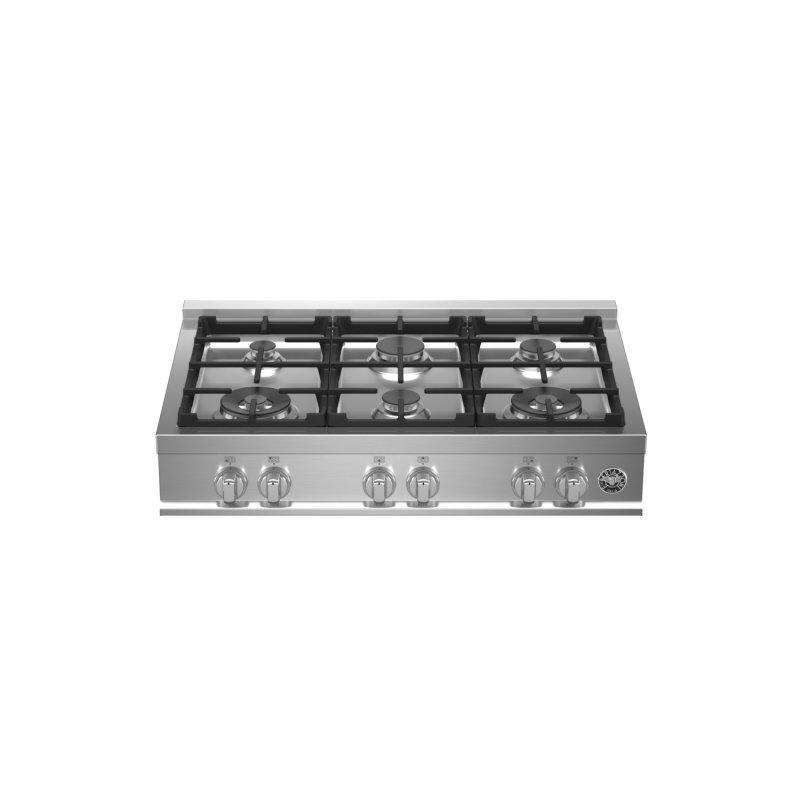 36 Gas Rangetop 6 burners Stainless Steel