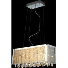 See Details - Crystal Ceiling Lamp, Glass/crystals, Jc/g4 20wx6&led 1wx8