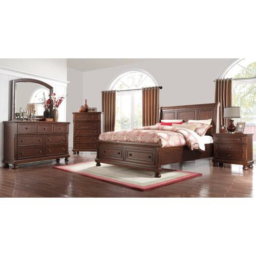 Prescott King Storage Sleigh Bed