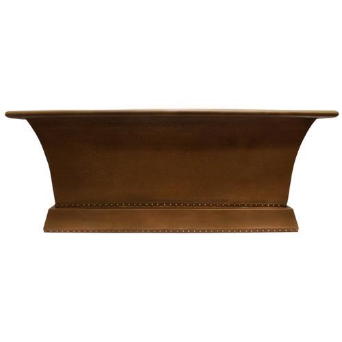 """Product Image - Wilmott 65"""" Rectangular Copper Tub"""