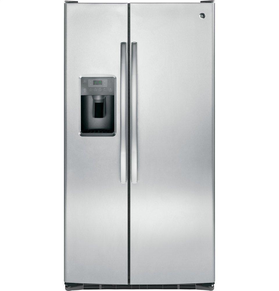 GEEnergy Star® 25.3 Cu. Ft. Side-By-Side Refrigerator