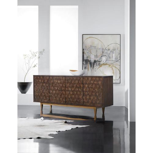 Living Room Melange Alpine Four-Door Credenza