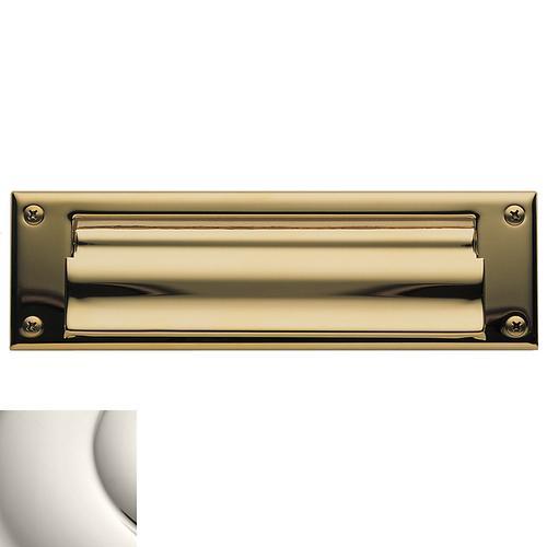 Baldwin - Polished Nickel Letter Box Plates