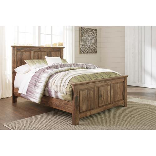 Blaneville - Brown 3 Piece Bed (Queen)