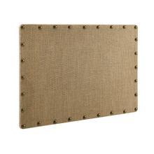 Burlap Corkboard