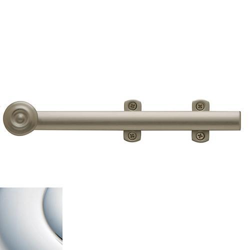 Baldwin - Polished Chrome Decorative Heavy Duty Surface Bolt