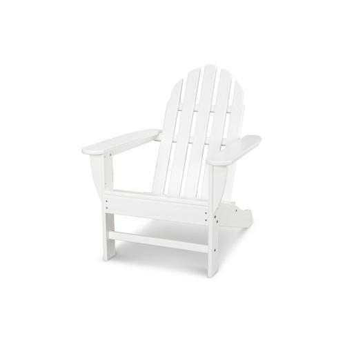 White Classic Adirondack Chair