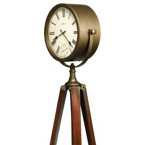 Howard Miller Surveyor Tripod Grandfather Clock 615082