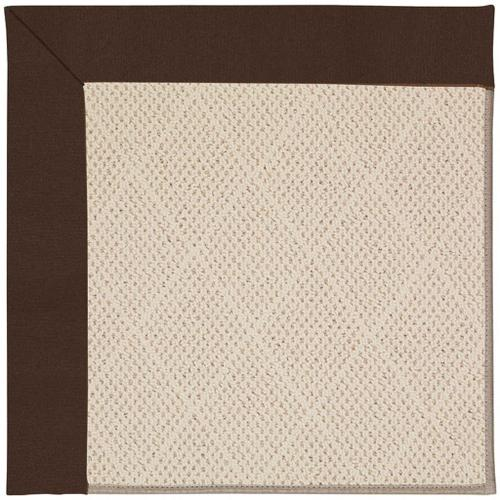 "Creative Concepts-White Wicker Canvas Bay Brown - Rectangle - 24"" x 36"""
