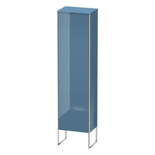 Product Image - Tall Cabinet Floorstanding, Stone Blue High Gloss (lacquer)