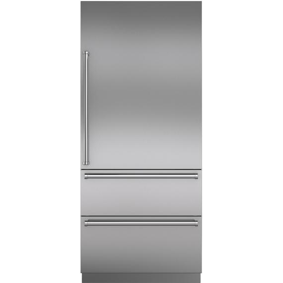 "Sub-Zero - Stainless Steel 36"" Door Panel with Pro Handle - RH"